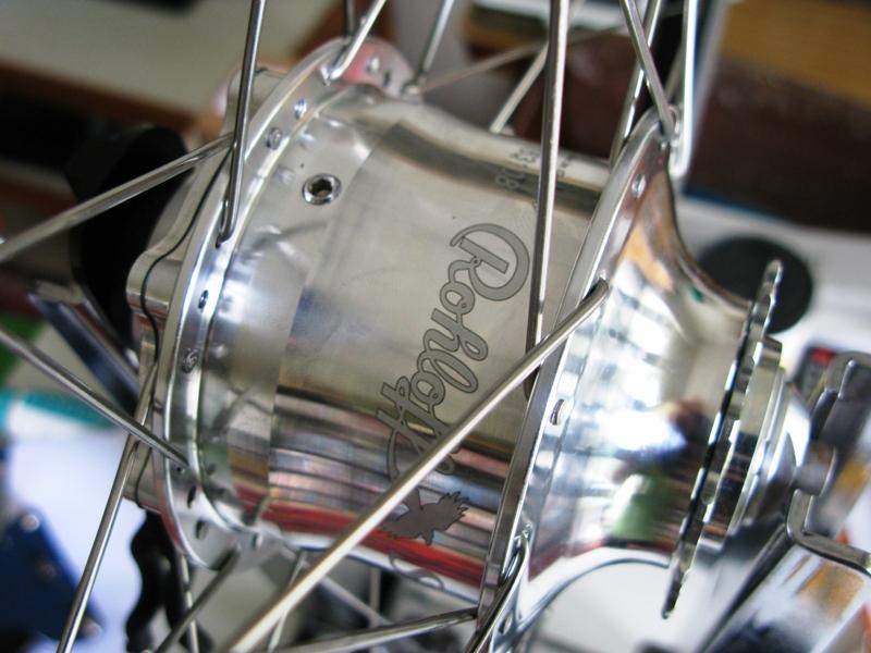 Rohloff Speedhub Spokes Silver 248mm